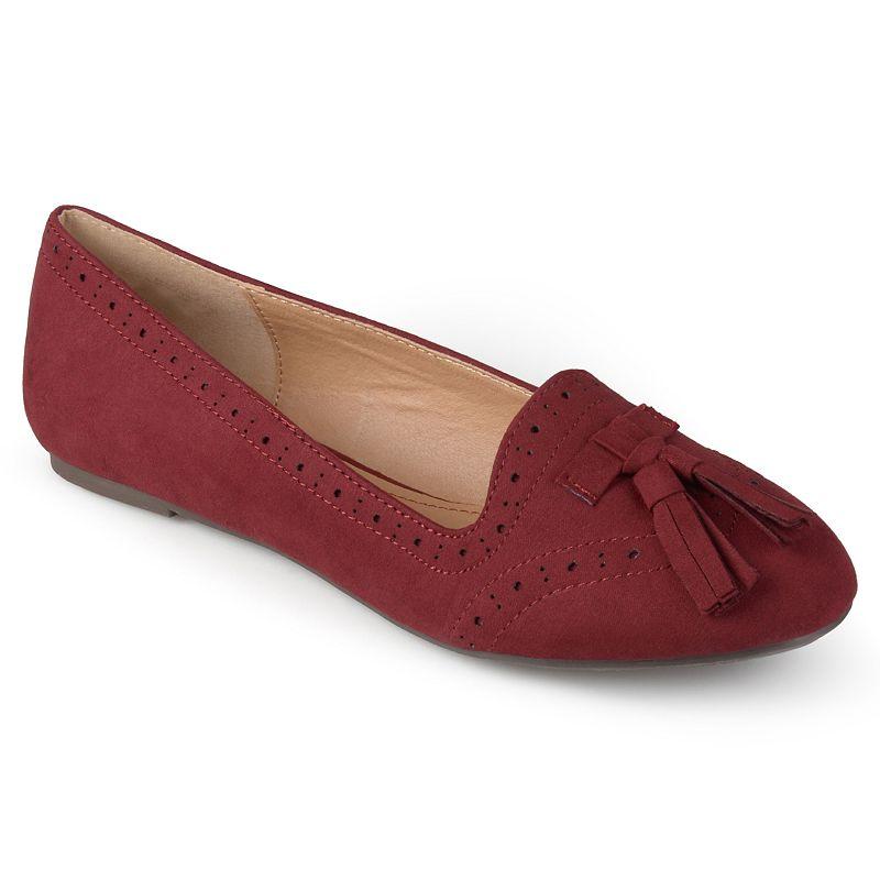 Journee Collection Qbill Women's Tassled Flat Loafers