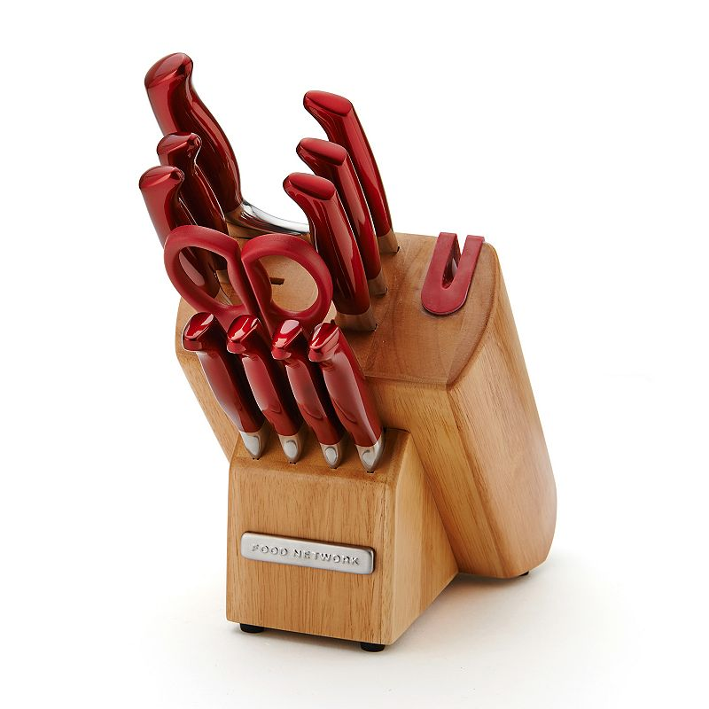 Food Network™ 12-pc. Hollow-Handle Cutlery Set - Red