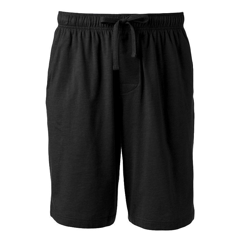 Men's Croft & Barrow Solid Knit Jams Shorts