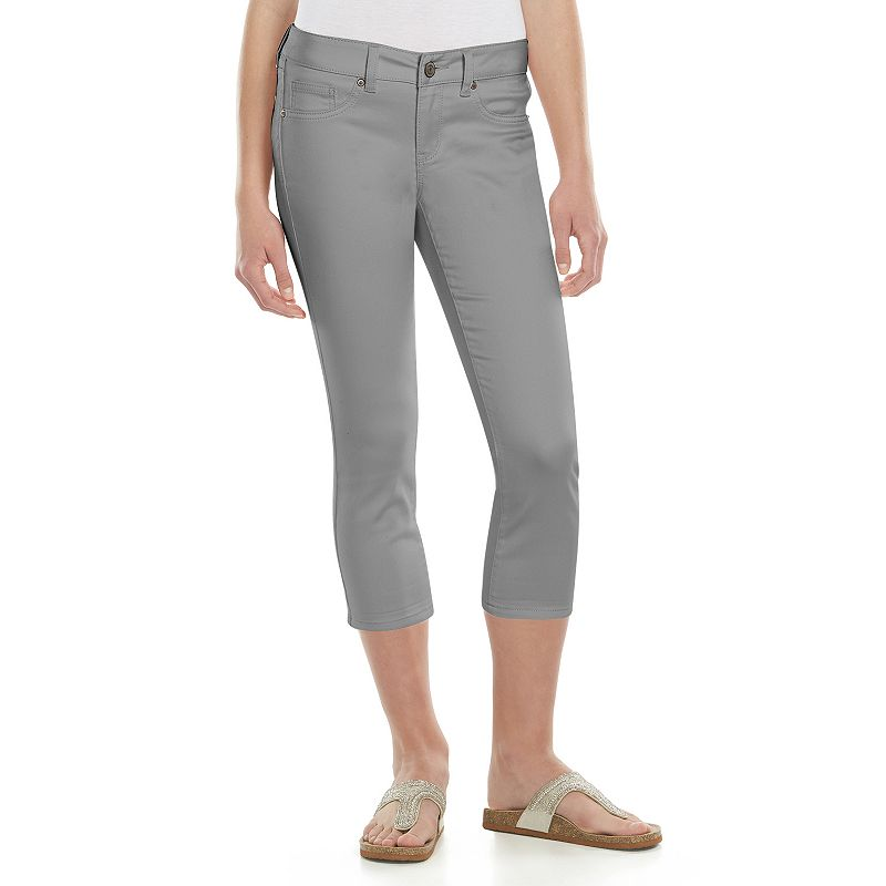 Juniors' SO® Denim Capris