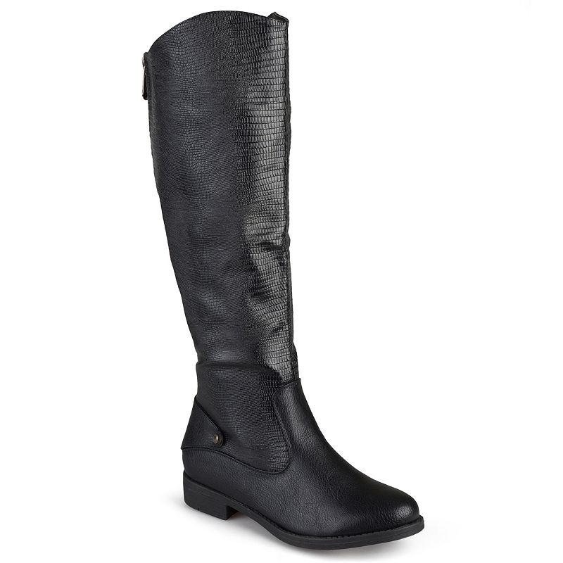 Journee Collection Sleek Women's Riding Boots