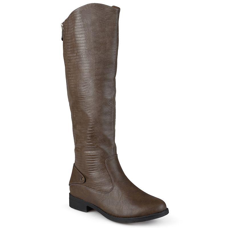 Journee Collection Sleek Women's Riding Boots