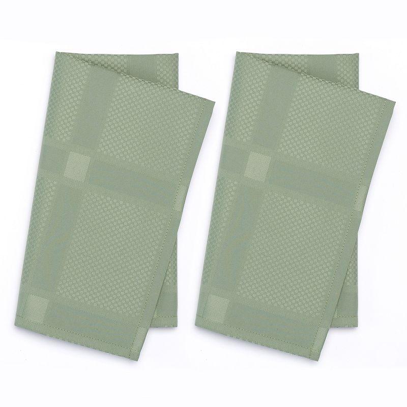 Food Network™ Regency Stain-Resistant Microfiber Reversible Napkins - 2 pk.