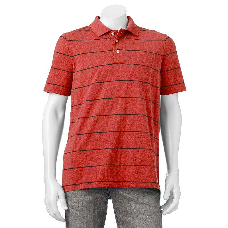 Men's Croft & Barrow® Classic-Fit Easy-Care Striped Polo