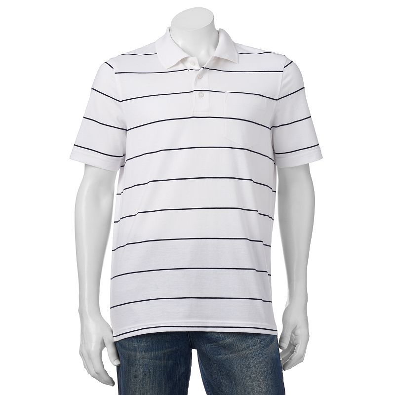Men's Croft & Barrow® Classic-Fit Easy-Care Striped Polo