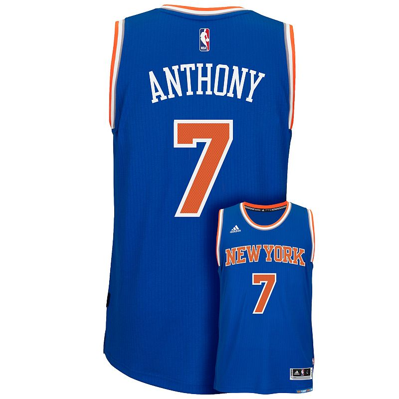 Men's adidas New York Knicks Carmelo Anthony Swingman Jersey