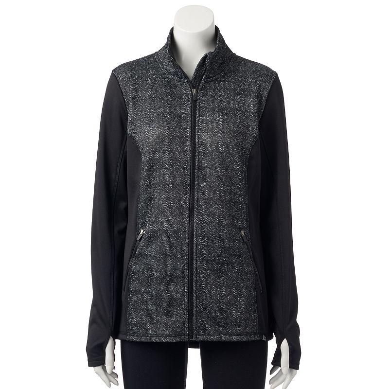 Women's RBX Herringbone Fleece Jacket