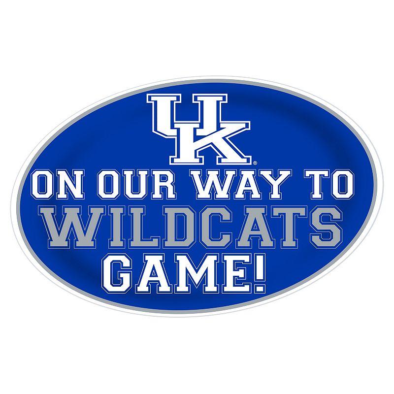 Kentucky Wildcats Jumbo Game-Day Peel & Stick Wall Decal