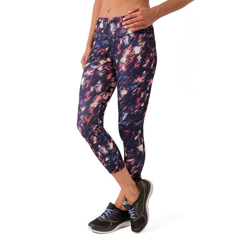 Women's RBX Printed Capri Workout Leggings