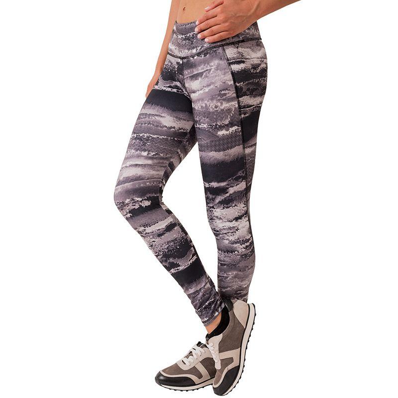 Women's RBX Printed Jersey Moisture-Wicking Workout Leggings