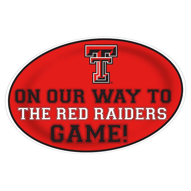 Texas Tech Red Raiders Jumbo Game-Day Peel & Stick Wall Decal