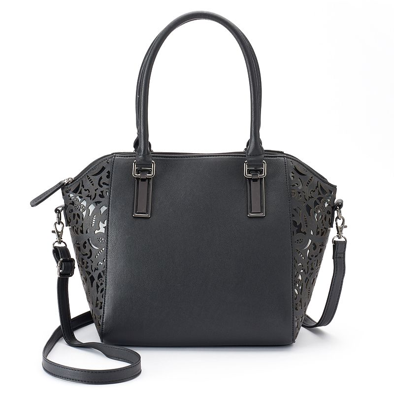 Apt. 9® Beckett Laser-Cut Satchel