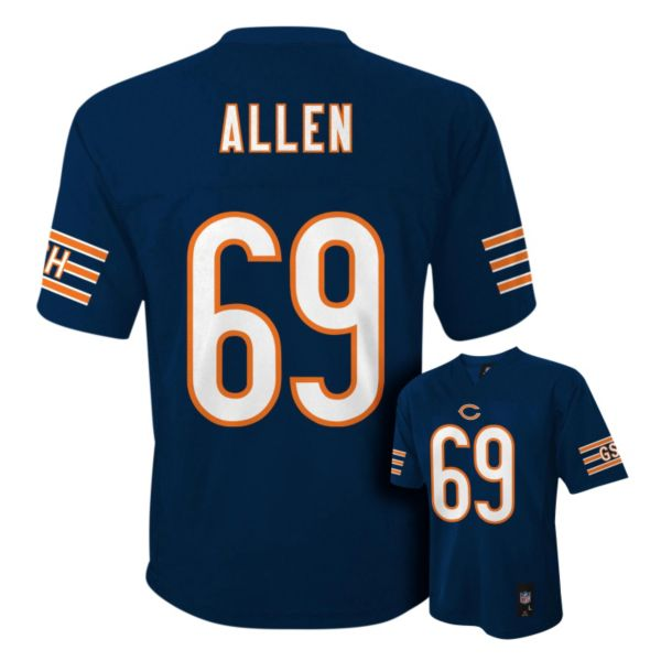 Boys 4-7 Chicago Bears Jared Allen NFL Replica Jersey