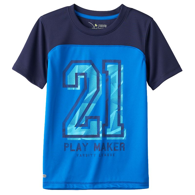 Boys 4-10 Jumping Beans® Play Cool Performance Graphic Tee