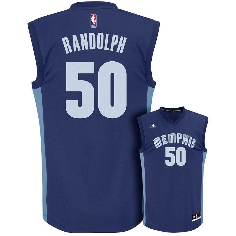 adidas Men's Memphis Grizzlies Zach Randolph Replica Jersey