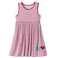 Design 365 Toddler Girl Striped Empire Dress