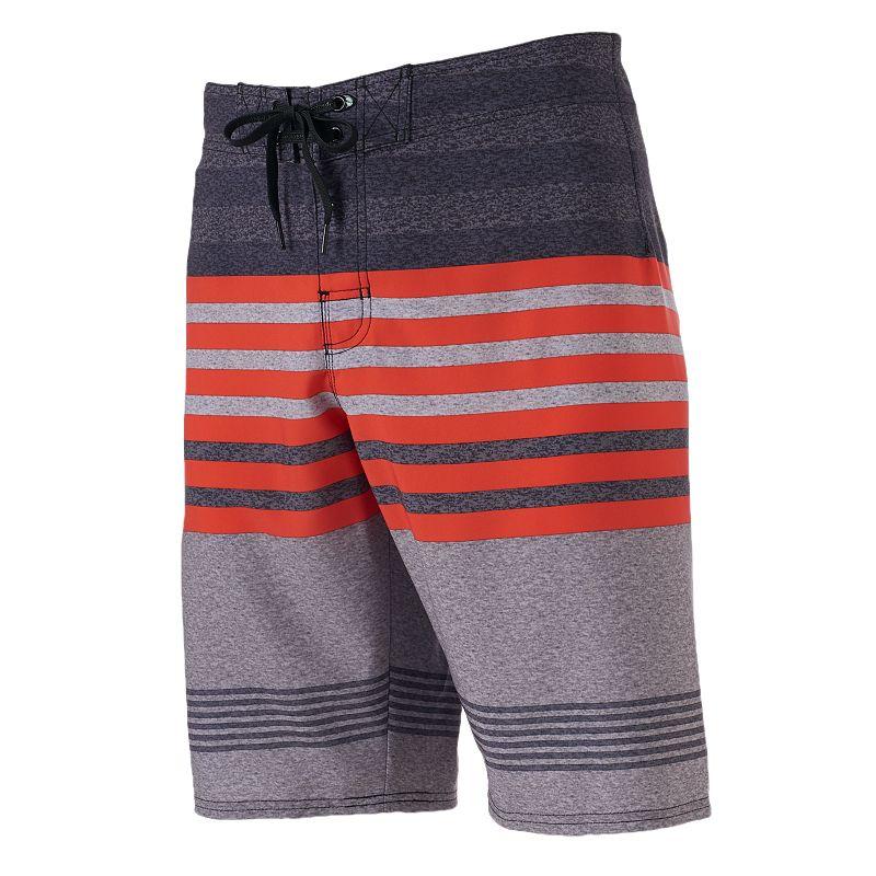 Men's Hang Ten Stripe Stretch Cargo Board Shorts