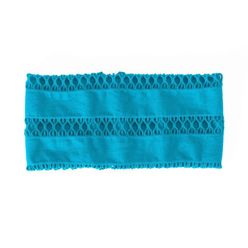 SO® Wide Open-Worked Stretch Headwrap