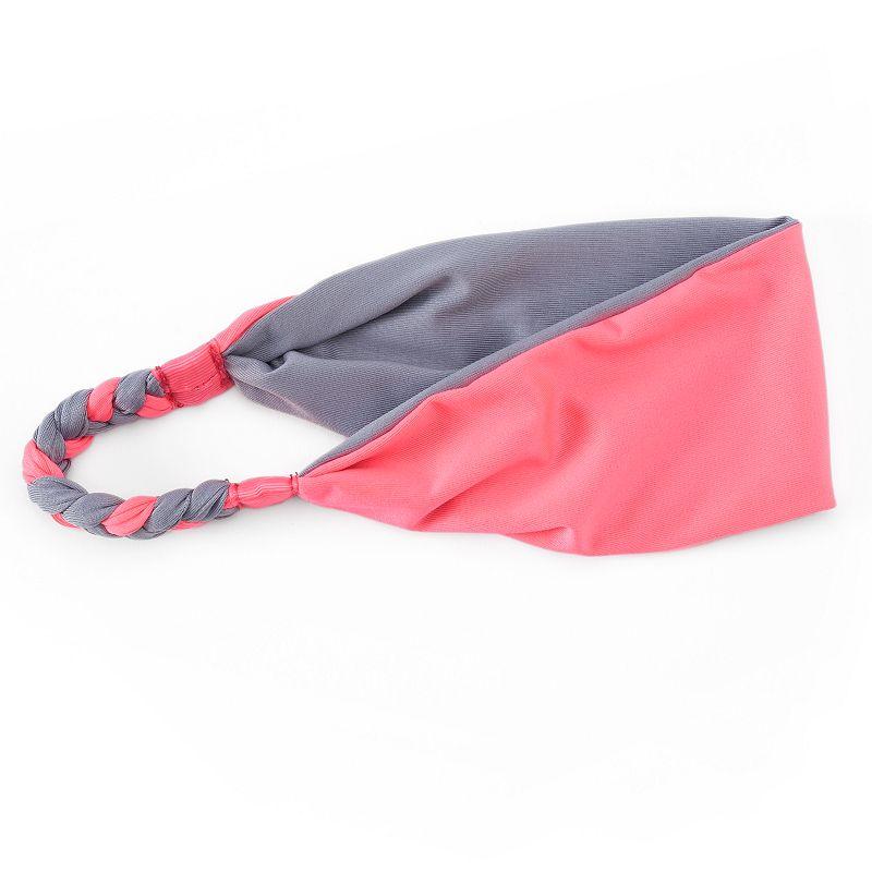 SO® Tie-Dyed Braid Reversible Headwrap
