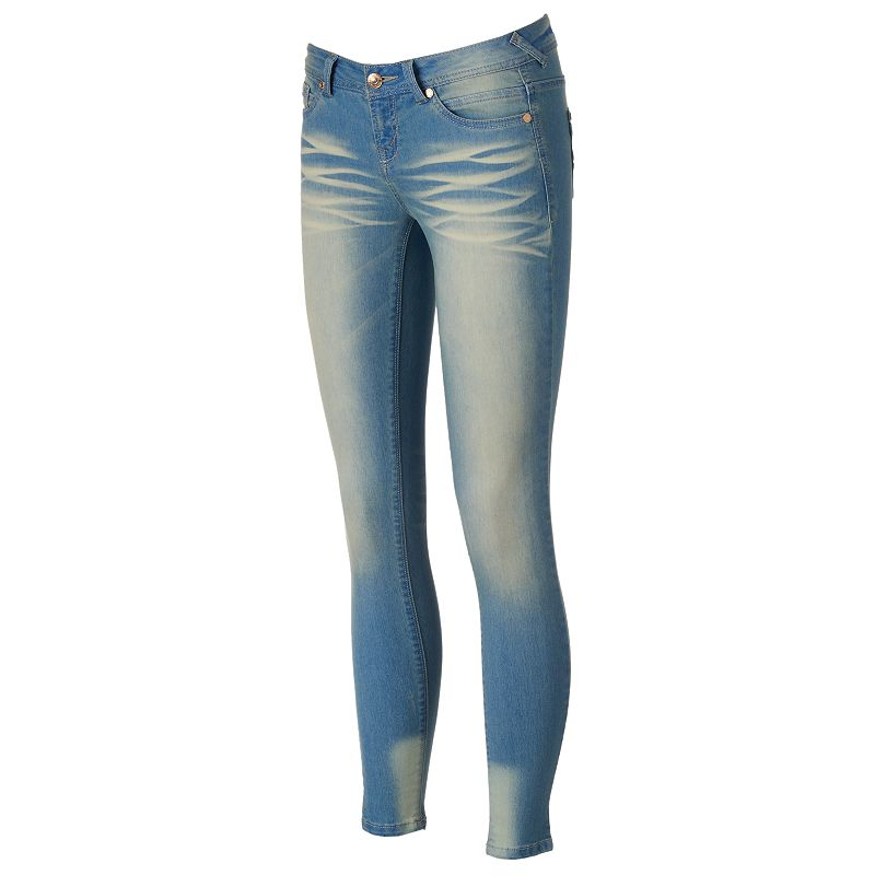 Juniors' Wallflower Ultraskinny Jeggings