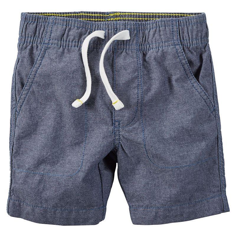 Boys 4-8 Carter's Chambray Shorts