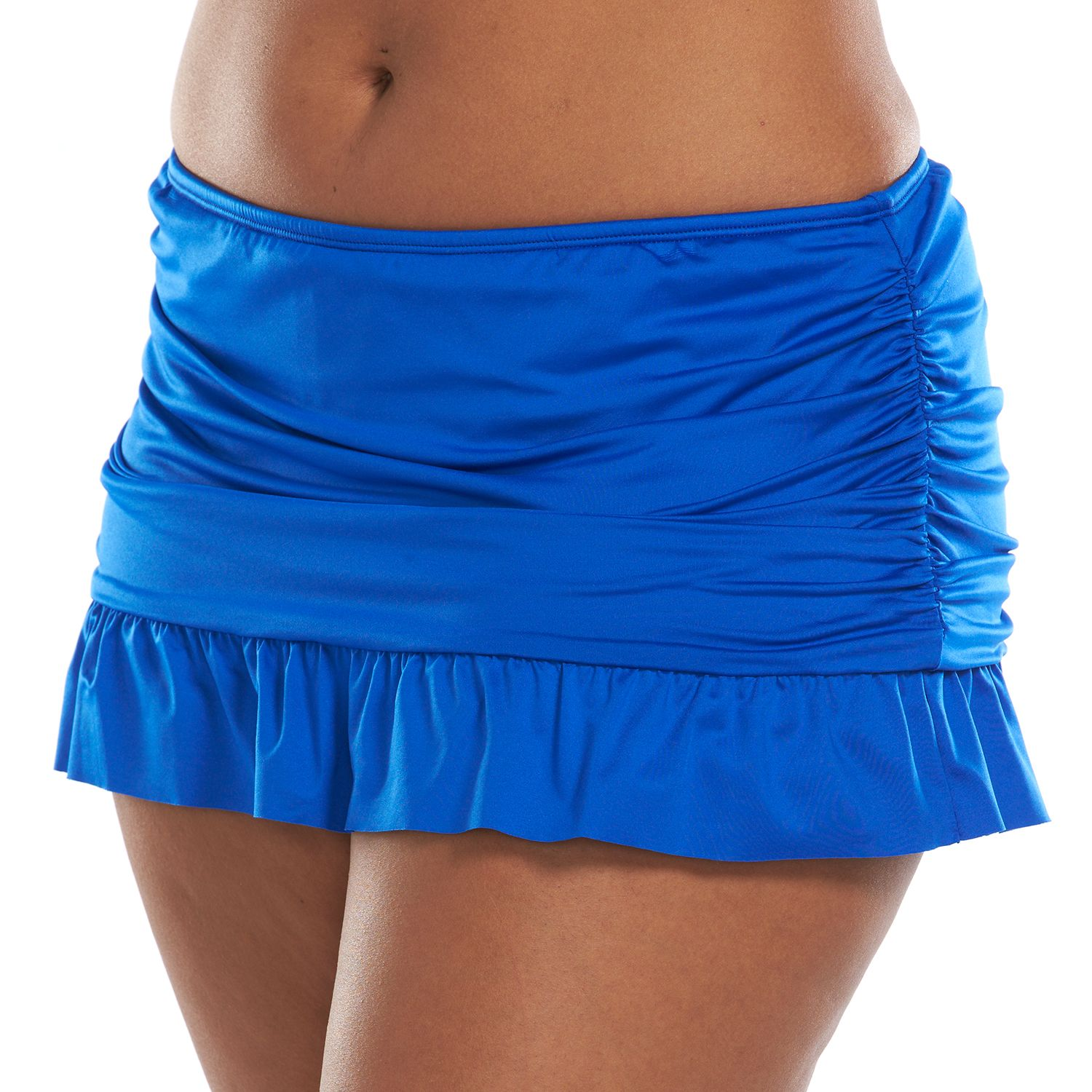 Plus Size Apt. 9? Ruched Skirtini Bottoms