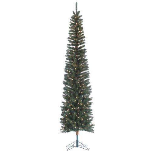 Sterling 9' Narrow Pencil Fir Artificial Christmas Tree