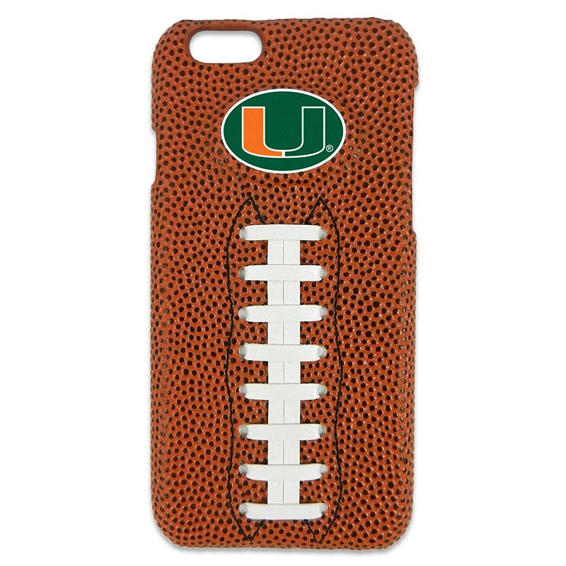 GameWear Miami Hurricanes iPhone 6 Football Cell Phone Case