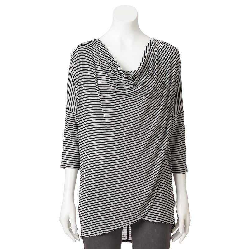 Loramendi Striped Crossover Top - Women's