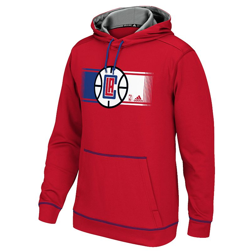Men's adidas Los Angeles Clippers Tip-Off Pullover Hoodie