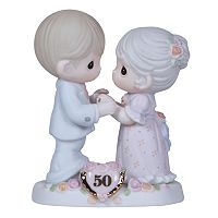 Precious Moments ''We Share A Love Forever Young'' 50th Anniversary Figurine