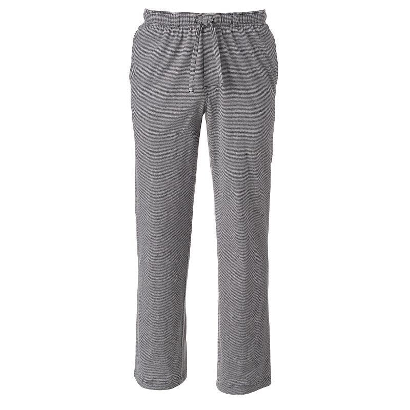 Big & Tall Croft & Barrow® Modern-Fit Striped Lounge Pants