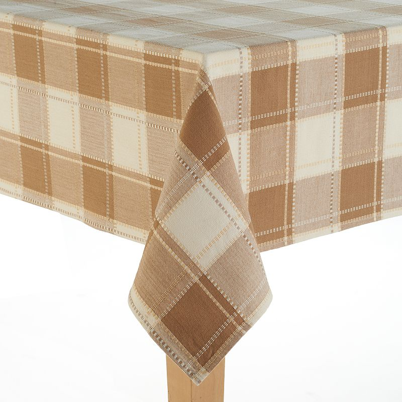 Food Network™ Cascina Plaid Cotton Tablecloth