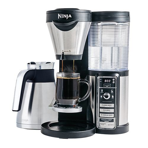 Iced Coffee Maker Kohl S : Ninja Coffee Bar with Double-Walled Thermal Carafe NEW IN BOX! COFFEE MAKER, eBay