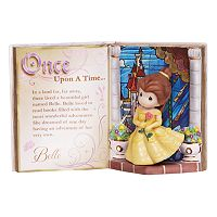 Disney Princess Belle Storybook Figurine by Precious Moments