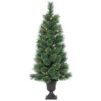 Sterling 3.5' Potted Hard Needle Deluxe Cashmere Pine Artificial Christmas Tree
