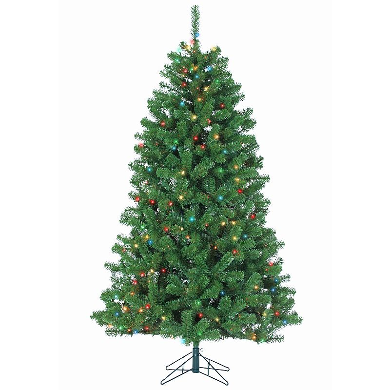 Sterling 7' Montana Pine Multi-Colored Artificial Christmas Tree