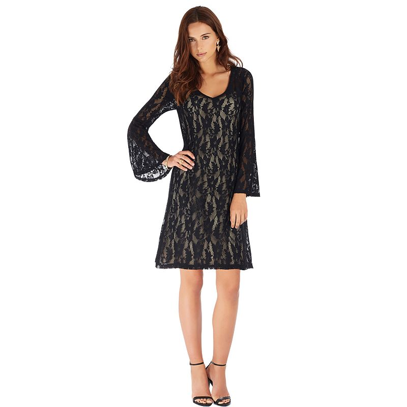 Indication by ECI Lace A-Line Dress - Women's