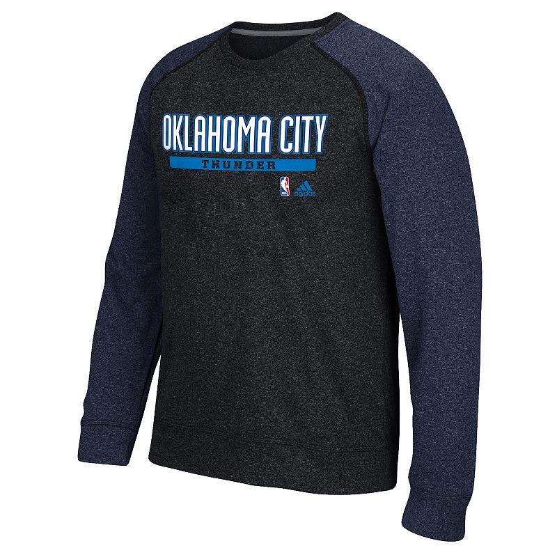 Men's adidas Oklahoma City Thunder Cut & Paste climawarm Fleece