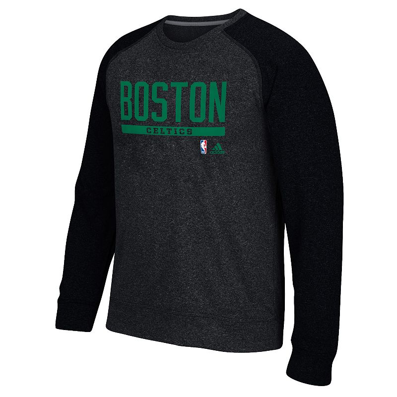adidas Men's Boston Celtics Cut & Paste climawarm Fleece