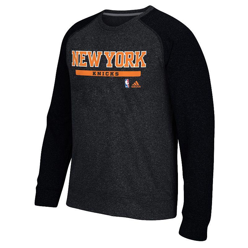 Men's adidas New York Knicks Cut & Paste climawarm Fleece