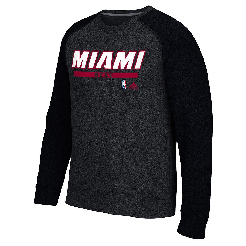 Men's adidas Miami Heat Cut & Paste climawarm Fleece