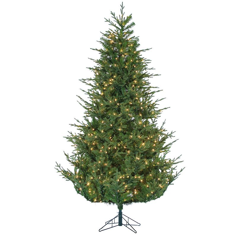 Sterling 7.5' Natural Cut Upswept Chesterfield Spruce Artificial Christmas Tree