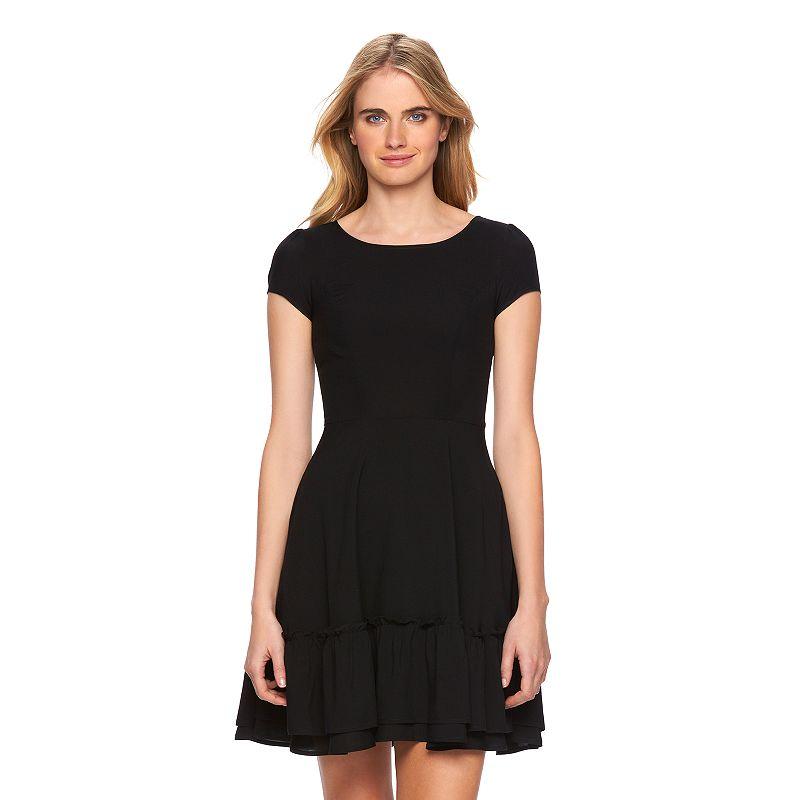 Women's LC Lauren Conrad Ruffle Shift Dress