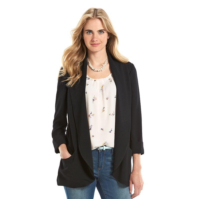 Women's LC Lauren Conrad Crepe Blazer