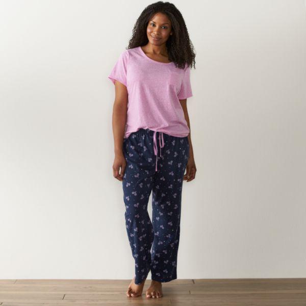 Plus Size SONOMA Goods for Life™ Pajamas: Knit Pajama Set