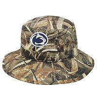 Adult Top of the World Penn State Nittany Lions Realtree Camouflage Boonie Max Bucket Hat