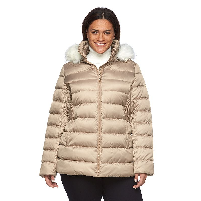Plus Size Halifax Hooded Packable Puffer Coat