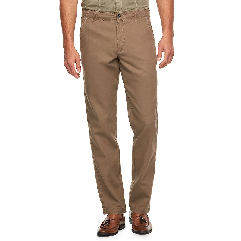 Men's Marc Anthony Slim-Fit Linen-Blend Pants