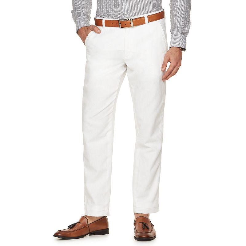 Men's Marc Anthony Slim-Fit Linen-Blend Pants